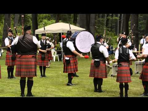 Stuart Highlanders Pipe Band @ Glasgow Lands