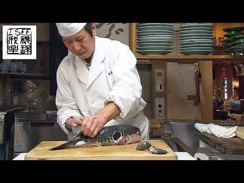 世界最毒的河豚鱼日本人最爱� 最著�的河豚鱼�厅在东京