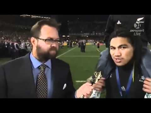 Ma'a Nonu on Stephen Donald at RWC2011 Final