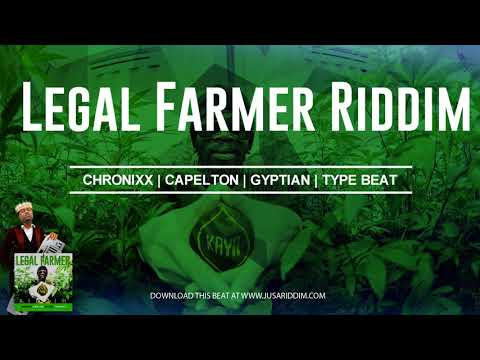 2018 Reggae Instrumental  Chronixx x Capelton Type beat Legal Farmer Riddim