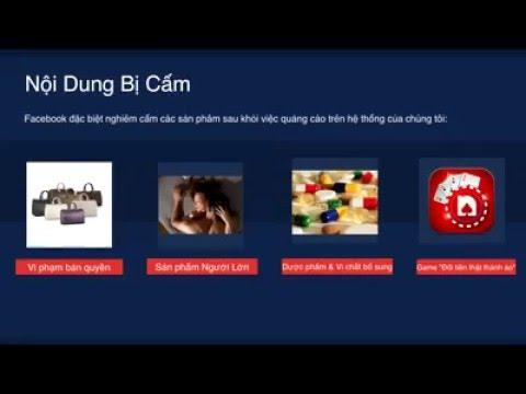 Chính sách kiểm duyệt Facebook Ads – Phần 2