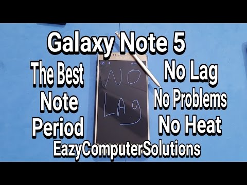 Make Your Galaxy Note 5 Faster Then The Note 7:THE ONLY NOTE ALTERNATIVE !!!