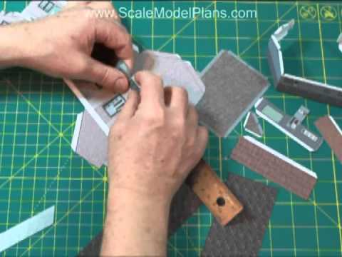 Cardstock Construction in N Scale, HO Scale, O Scale=+