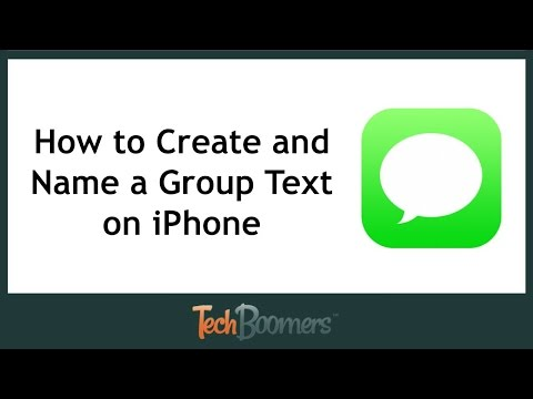 How to Create and Name a Group Text on iPhone