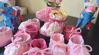 Souvenirs for baptism or baby shower
