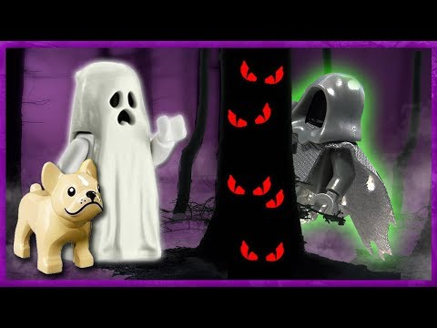 Lego Ghost And Dog #3 | The Tree Monster | Stop Motion Cartoon For Kids