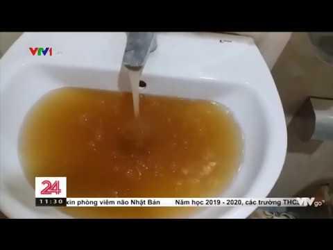 Video nước sinh hoạt nhiễm bẩn ở khu đô thị Văn Phú Hà Đông – Công ty nước sạch Hà Đông