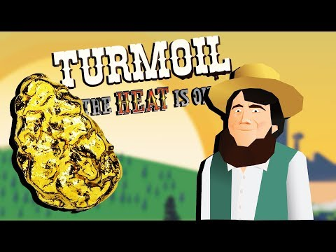 GIANT GOLD Nuggets and Mining Through Lava! - Turmoil The Heat is On Gameplay