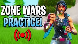 🔴 Zone Wars With Viewers! // Intense End Game Fights! | Family-Friendly