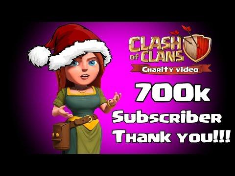 700K SUBSCRIBER! THANKYOU CHARITY!!!