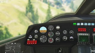 GTA 5 FIRST PERSON FLYING GAMEPLAY!