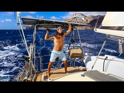 Hand Steering to the Southern Cross! Passage to Brazil Pt. 1! Sailing Vessel Delos Ep. 165