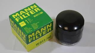 Фильтр масляный Mann Filter W81180 Обзор