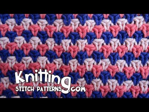 English Rose Tweed Stitch Youtube