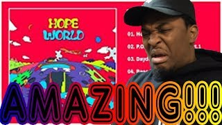 "J - HOPE - ""HOPE WORLD"" FIRST REACTION/REVIEW!!!"