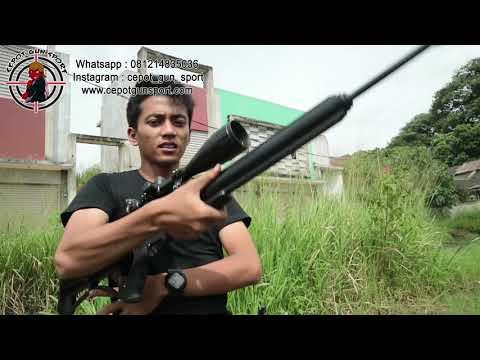 Cepot Gun Sport Air Rifle Shoot - Tes Senapan PCP Air Force Condor (AFC)