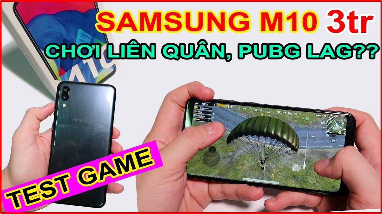 TEST GAME Samsung M10 giá rẻ 3tr trên LAZADA, SHOPEE Chơi Liên Quân, Pubg lag? | MUA HÀNG ONLINE