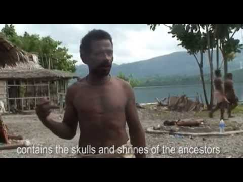 Laulasi: the skulls, money and dance. Solomon Islands