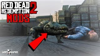 Red Dead Mods - Playing as Alligator (2019) RDR2 PC MODS