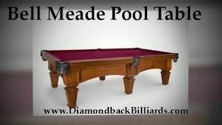 Belle Meade Pool Table