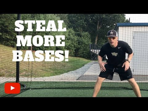 Two Tips to Help you Steal More Bases!