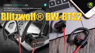 Blitzwolf® BW BTS2 Bluetooth наушники c влагозащитой IPX7