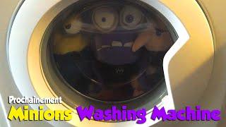 Minions washing machine