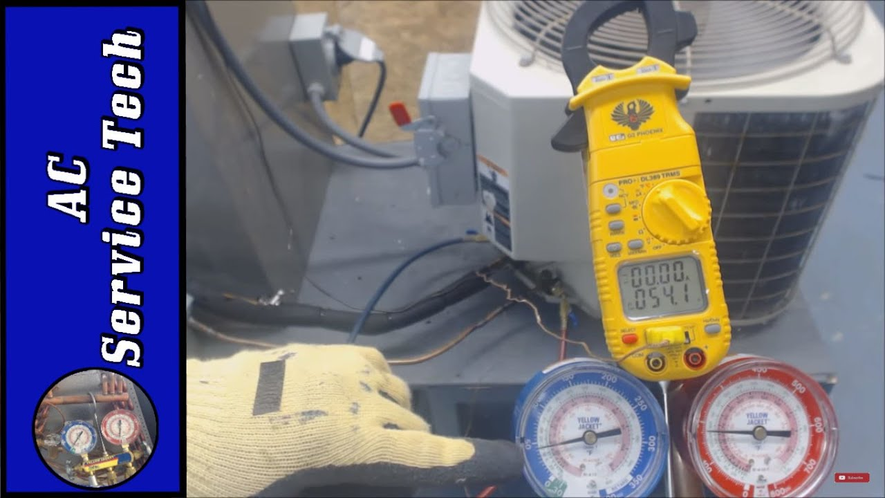Refrigerant Charging What It Looks Like To Have A Bad Txv Compared Just Low Charge