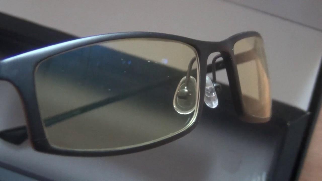 f649654908 Gunnar Optiks ST002-C001 Phenom Full Rim Ergonomic Computer Glasses Amber  Lens Tint Onyx