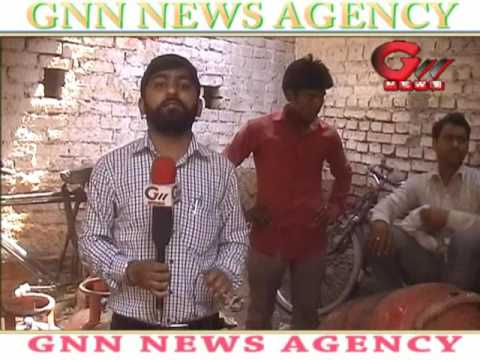 Gnn News Agency:Exclusive News delhi LPG Gas cylinder theft In Vikas puri Delhi