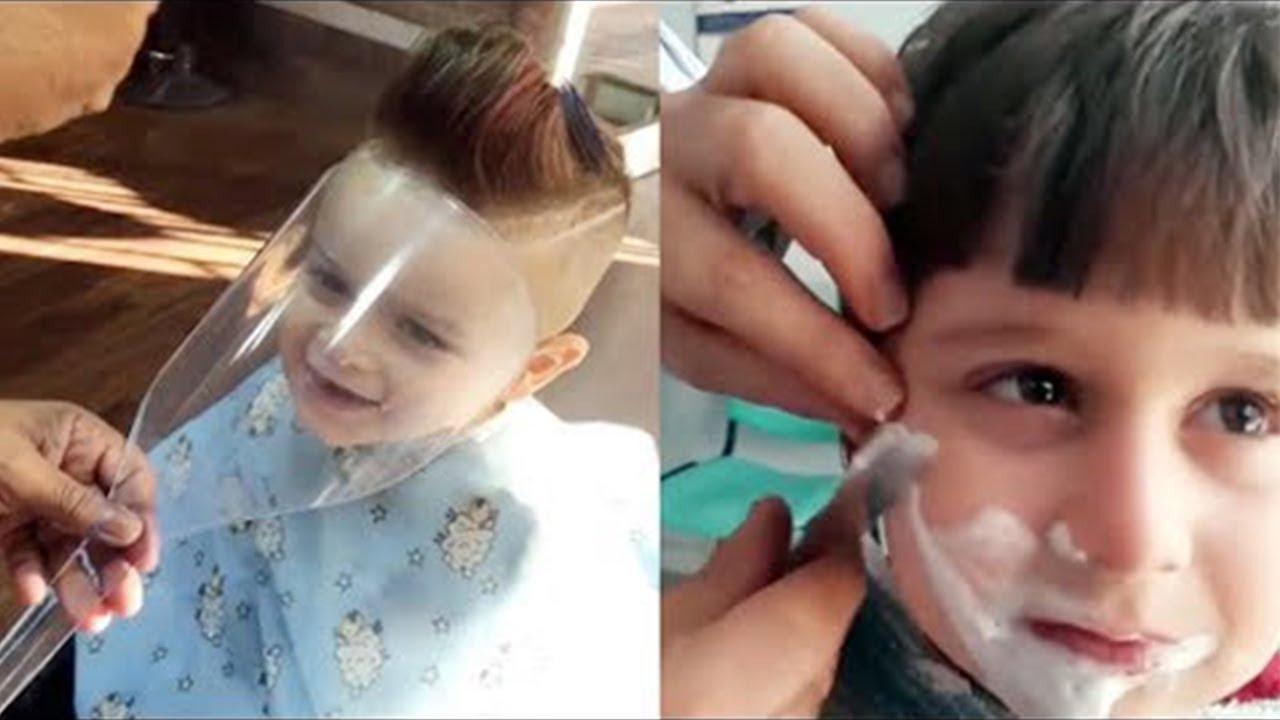 Coiffures cheveux enfants videos