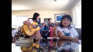 Fountain Valley Trio ,   Guitar : Phương Thảo,  Singer : Hồng Tước , Violin : Nguyễn Cường