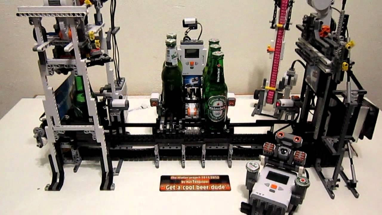 Lego Mindstorms Nxt The Beer Machine Final Doovi