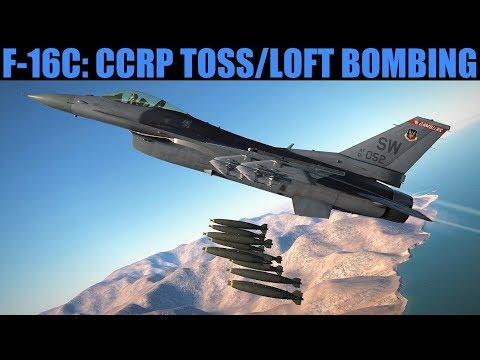 F-16C Viper: CCRP Toss Loft Bombing Tutorial | DCS WORLD