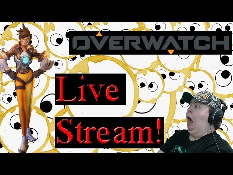 Overwatch | Chasing Tracer! | Tee Stains LIVE