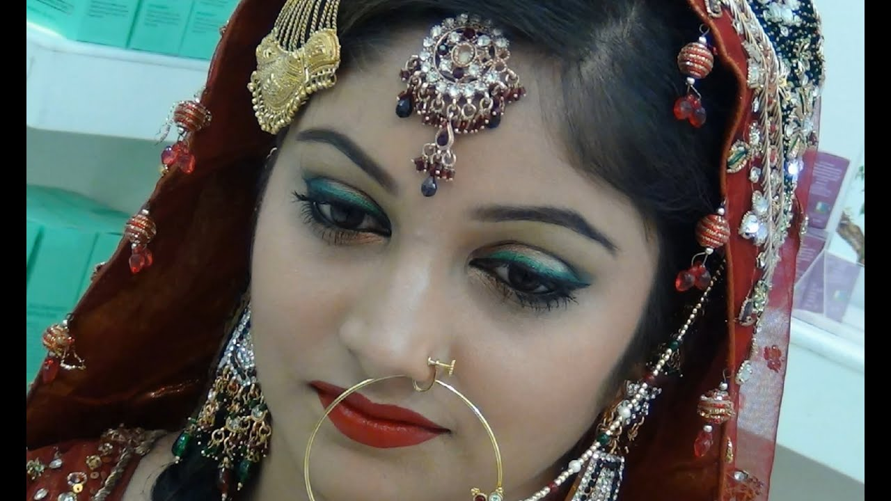 Pakistani Bridal Makeup Tutorial - YouTube