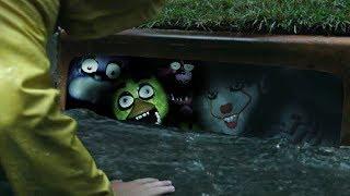 Gmod SCARY PENNYWISE FNAF Crossover Mod! Pennywise VS Freddy Fazbear (Garry