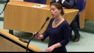 Carola Schouten (cu) Dolt Roald Van Der Linde (vvd)