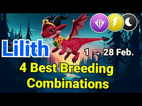 Lilith Dragon | Breeding Guide | 4 Best Combinations | Dragon Mania Legends