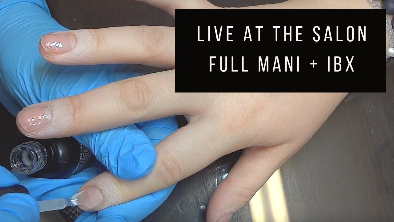 Damaged Nails? IBX treatment (in real time)- by Anna - YouTube