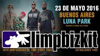 Limp Bizkit (2016) - Luna Park, Argentina