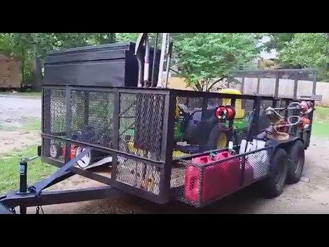 dlc - 2016 landscaping mowing trailer