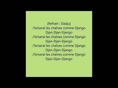 DADJU - Django ft. Franglish (Paroles/Lyrics)