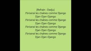 DADJU - Django ft. Franglish (Paroles/Lyrics)