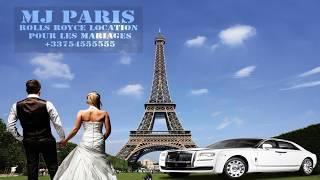 Location de voiture pour mariages à Paris