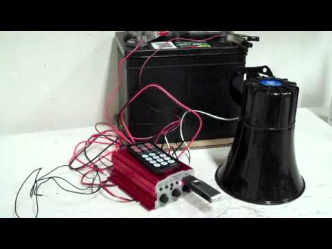 Sonic Boom Series X1 Electric Horn Kit by Boom Blasters