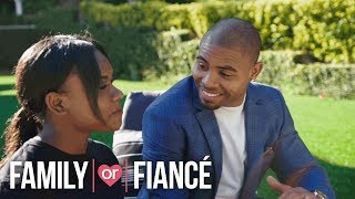 Deleted Scene: Justin Asks His Sister for a Shady Favor | Family or Fiancé | Oprah Winfrey Network
