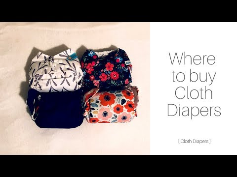 WHERE TO BUY CLOTH DIAPERS   Cloth Diapers