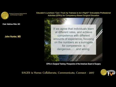 Entrustable professional activities & the American Board of Surgery