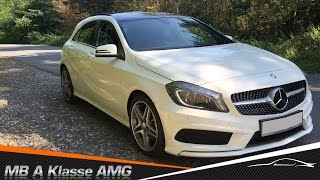 С осмотра Mercedes Benz A klasse AMG Sport Paket